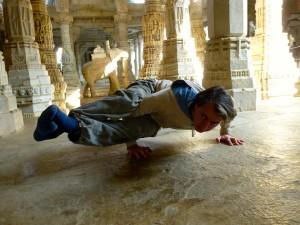 nel tempio jainista